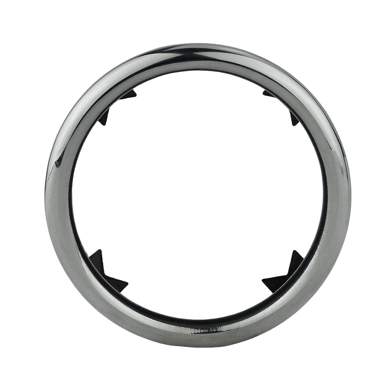 de acero inoxidable pulido L/&P A286-2 embellecedores de tubo de escape para tubo de escape cromado