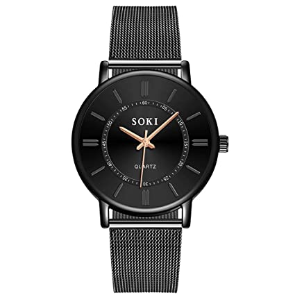 XBKPLO Mens 40mm Quartz Watches,Analog Quartz Watch Men,Mens Analog Quartz Watch,