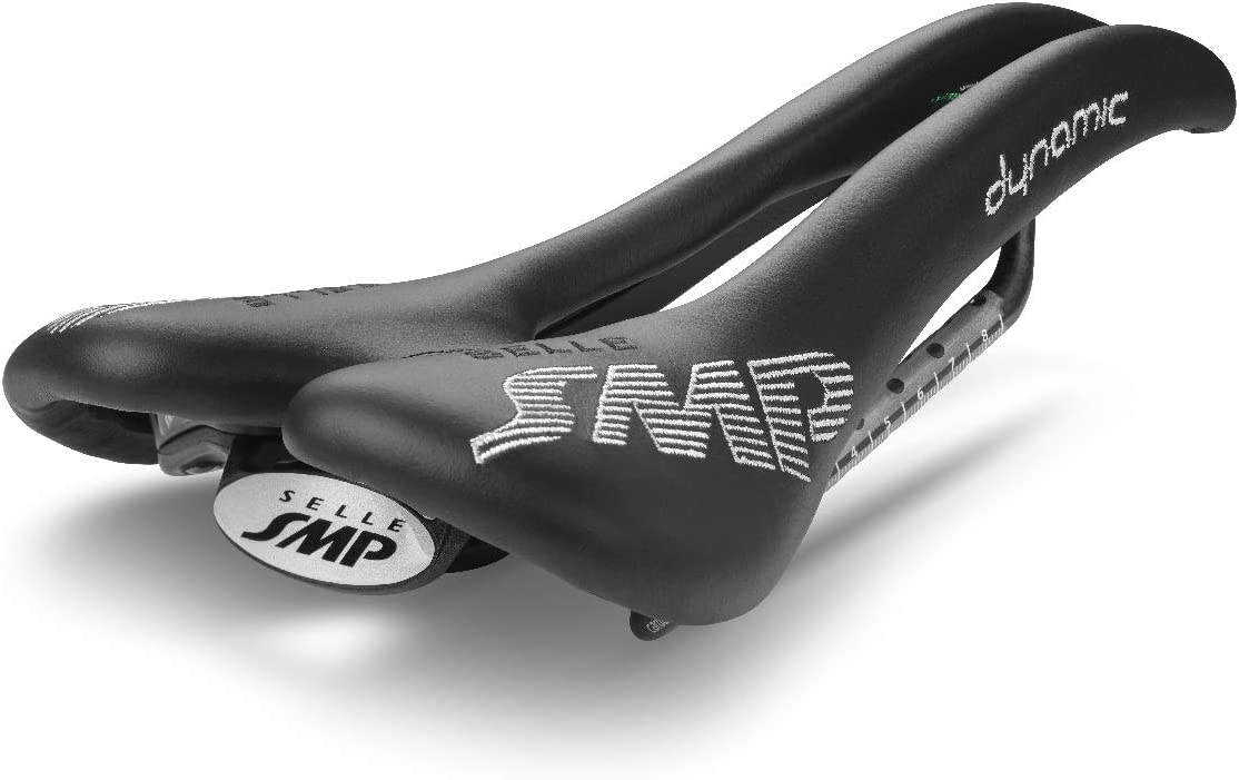 Black Selle SMP Dynamic Bicycle Saddle Made in Italy