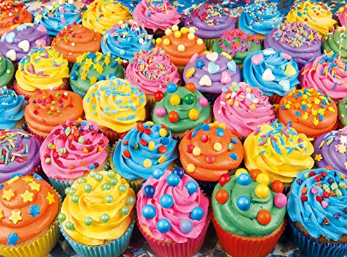 Colorful Cupcakes, Photography Jigsaw Puzzle, Collection, 500 Pieces