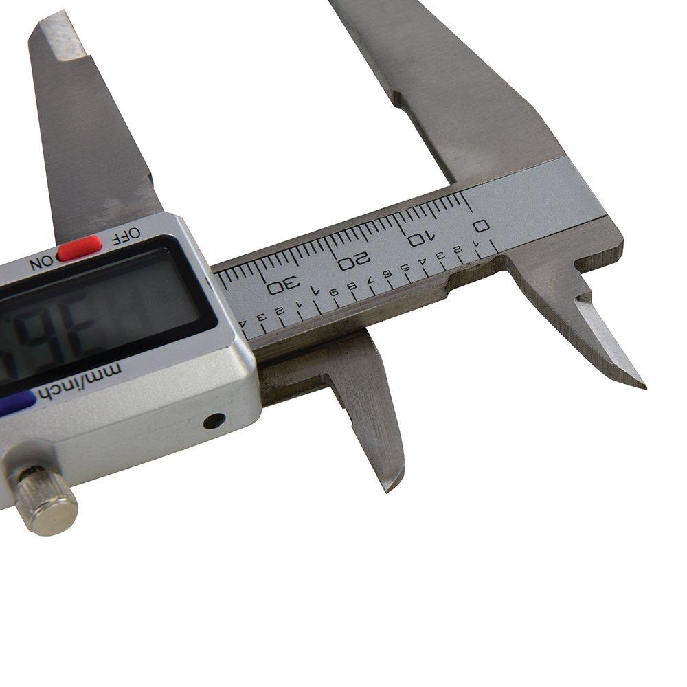 Silverline 380244 150 mm Pie de rey digital