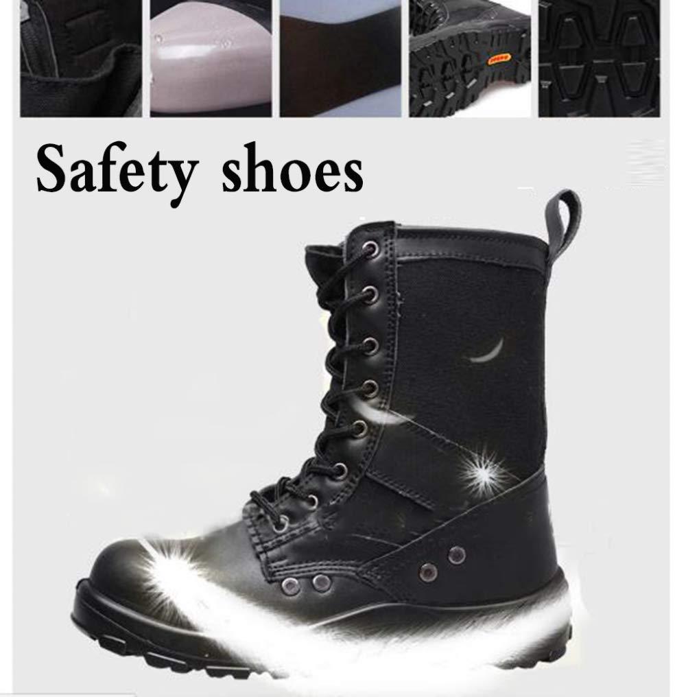 RSHENG Schuhe Schuhe Schuhe Für Work Steel Head Stiefel Für Herren - Sicherheit Martin-Stiefel Anti-Smashing-Ankle Field Stiefel 22b583