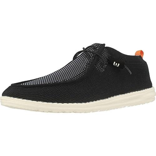 Hey Dude Zapatos Para Hombre, Color Negro, Marca, Modelo Zapatos Para Hombre 111274919 Negro