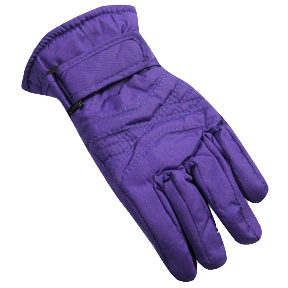 Winter Warm-Up - LIttle Girls Ski Gloves, Purple 36476-onesize