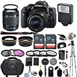 Canon EOS Rebel T6i DSLR Camera with Canon EF-S 18-55mm f/3.5-5.6 IS STM Lens + 64GB Memory + Filters + Macro Close Ups...