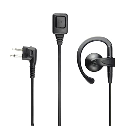 Amazon com: Motorola Radio G Shape Earpiece 2Pin PTT Headset