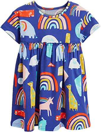 Bleubell Toddlor Girls Overall Dress Vintage Dress 2-7Y