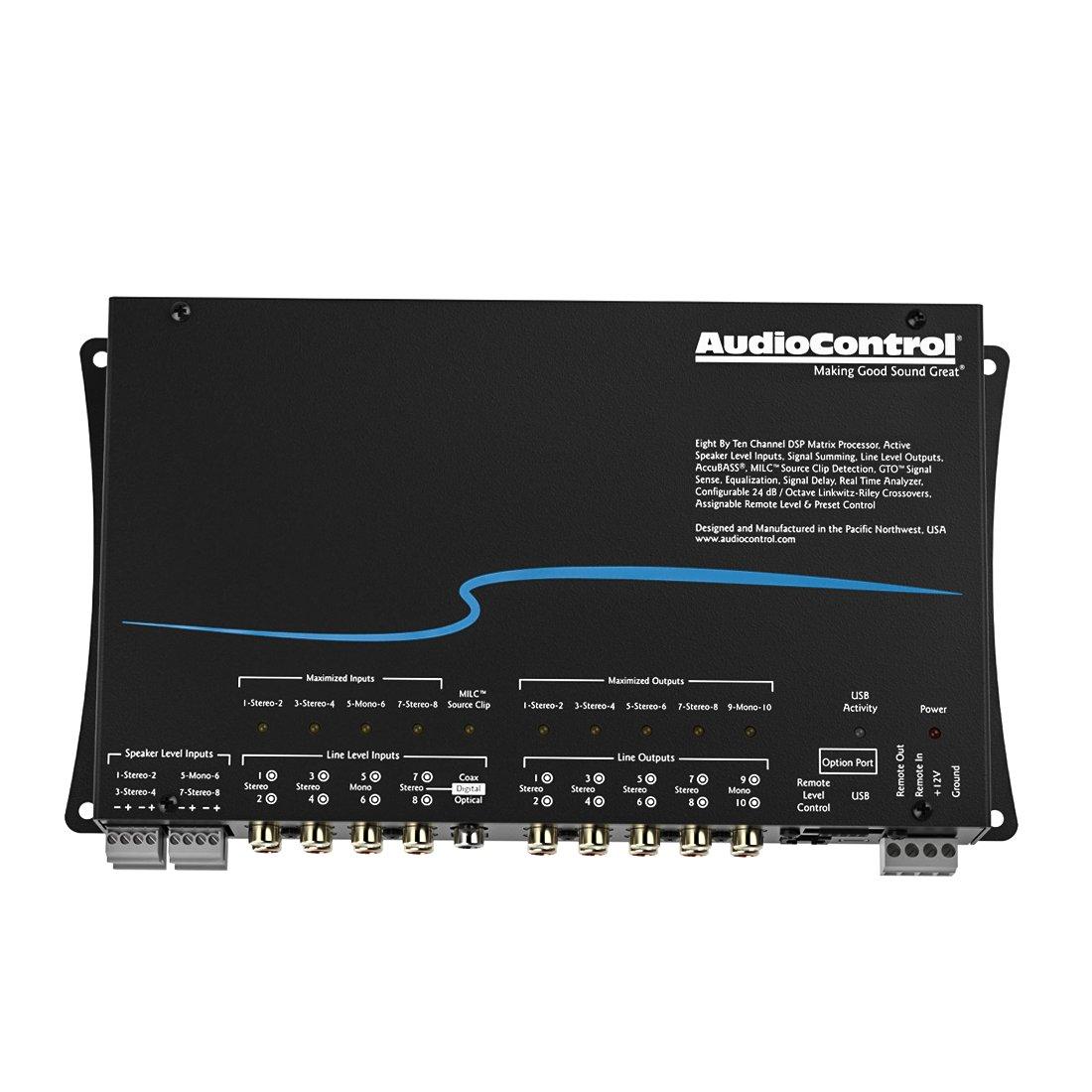 AudioControl 8 Input 10 Output DSP Matrix Digital Signal Processor