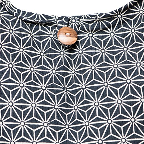 de et beaucoup avec couleurs Panasiam© pour Asanoha amp; bandoulière ici portable doublure en poche 2 nouveau téléphone Sac tailles Schwarz disponible design qZFwPv