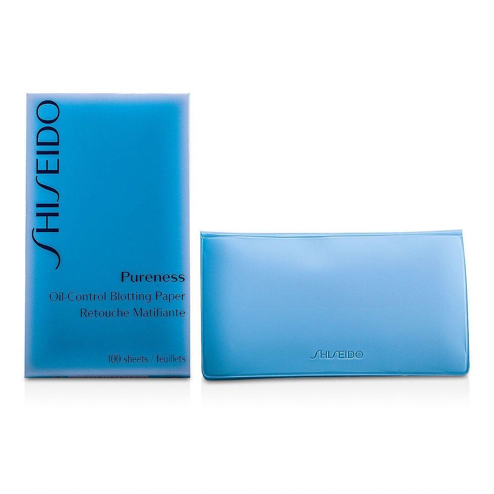 SHISEIDO by Shiseido Pureness Oil-Control Blotting Paper--100sheets ( Package Of 3 ) by SHISEIDO (Image #1)
