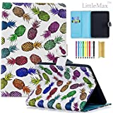 Kindle Paperwhite Case,LittleMax Ultra Slim PU Leather Case Flip Stand Auto Wake/Sleep Cover for All Amazon Kindle Paperwhite (2012/2013 / 2015/2016 version)-04 Pineapples