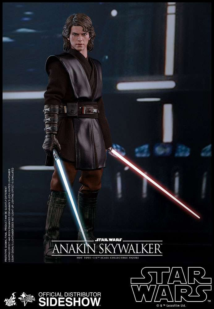 grandes ahorros Hot Toys - Figura coleccionable de Anakin Skywalker Star Wars: Wars: Wars: Episodio III Revenge of the Sith 1:6  ¡no ser extrañado!