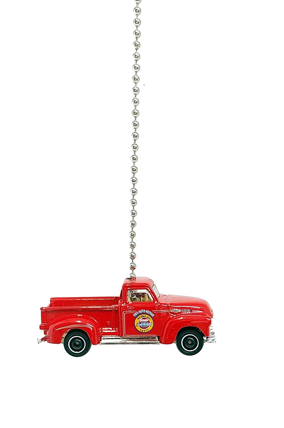 Chevy Truck Diecast Ceiling Fan LIght Pull Chain Ornament 1962 Chevy Truck Black Purple