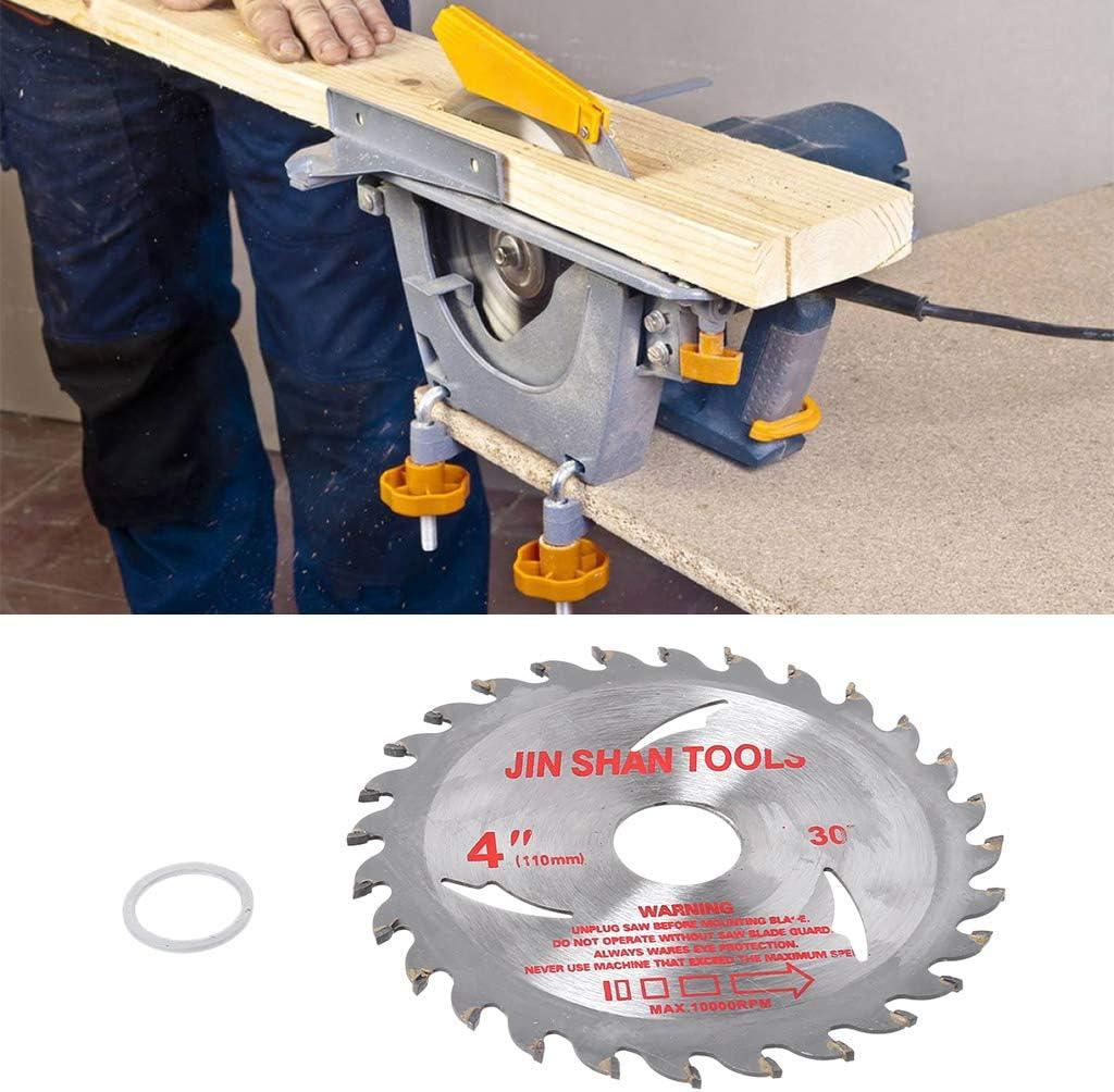 Yintiod Disco de corte para madera 105 mm, di/ámetro de perforaci/ón 20 mm