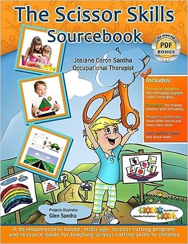 Workbook cutting worksheets : The Scissor Skills Sourcebook: A multi-age, scissor cutting ...