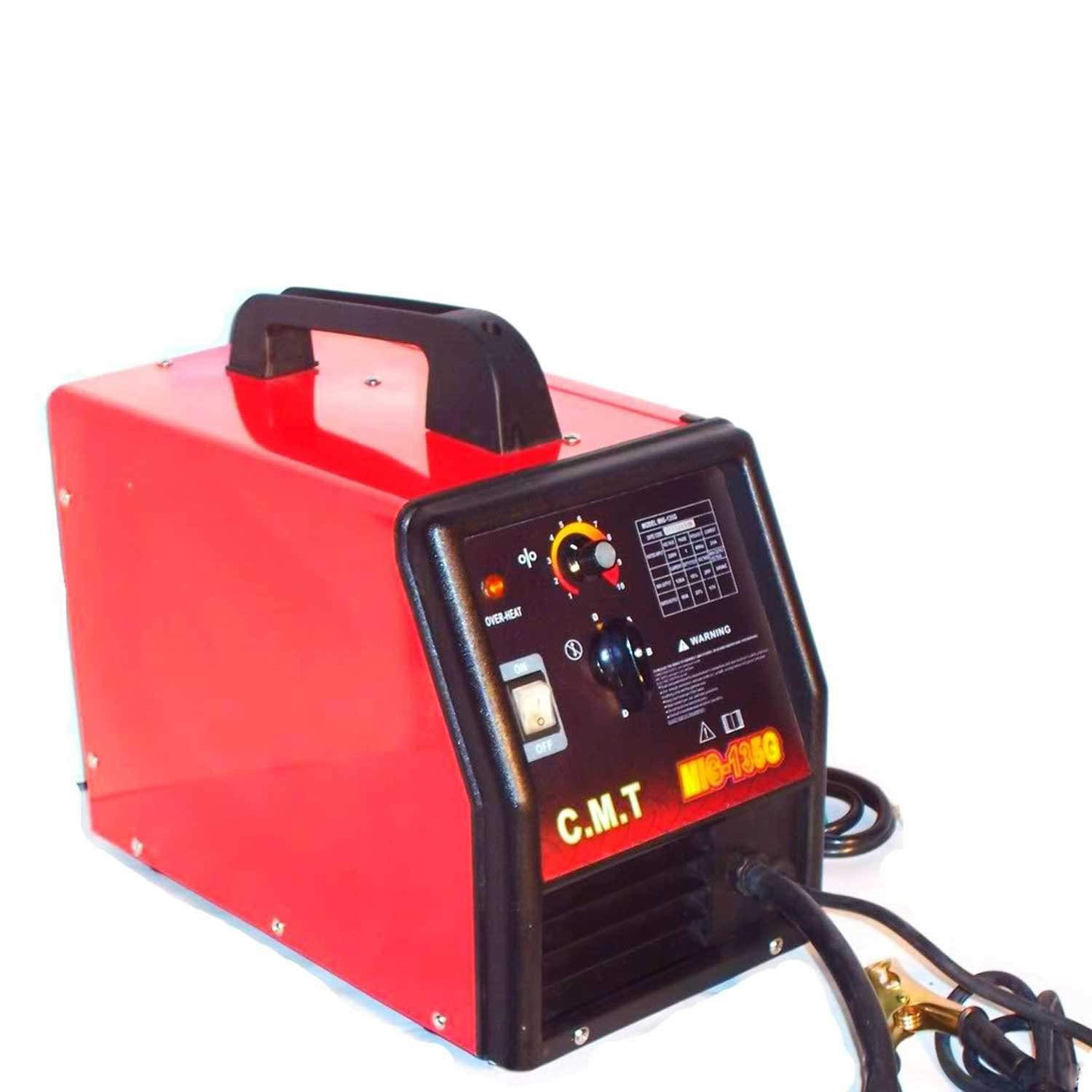 Amazon.com: Electric Flux Wire Welder Machine Mig 135 G Gas And No ...