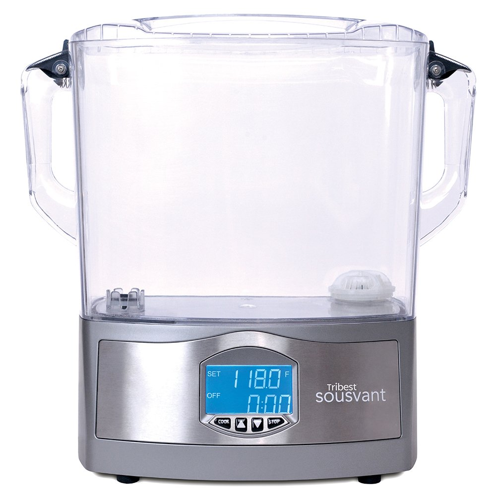 Tribest Sousvant SV-101 Complete Sous Vide Circulator, Silver