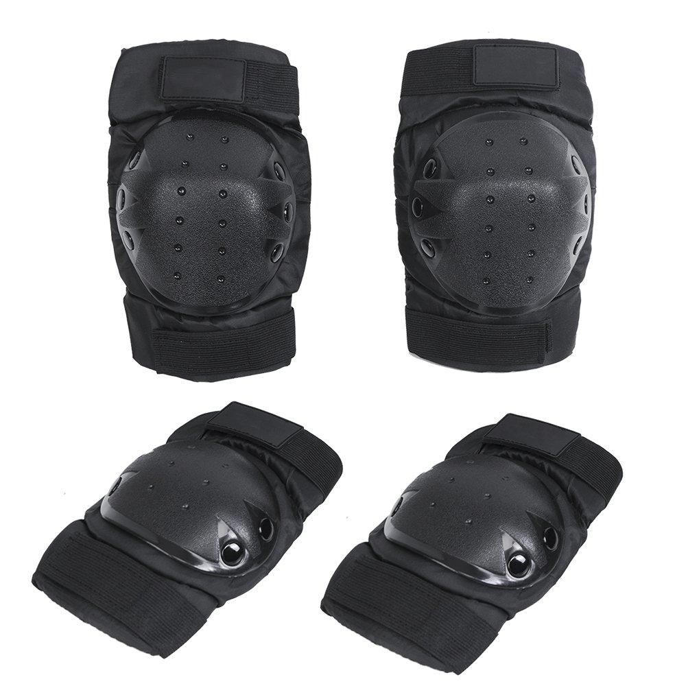 KT 4X Protecciones de rodilleras coderas para moto ciclismo montañismo militares táticos al aire libre deportes KT SUPPLY