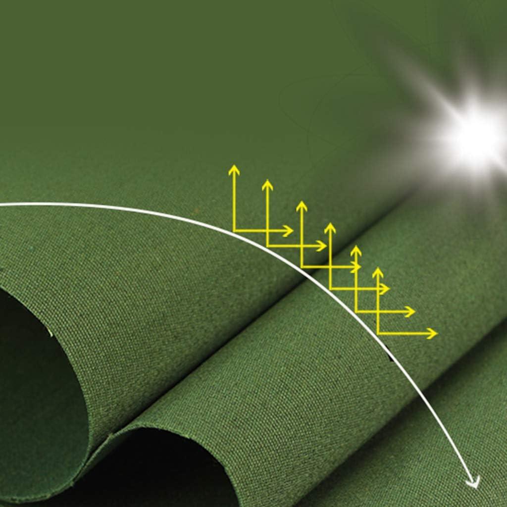 Verde Telo di Protezione Antipioggia Copertura da Esterno NMRCP Telone Impermeabile per Esterno Pesante Materiale Robusto 350g//m/² Antistrappo Teloni con Occhiellato e la Corda