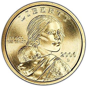 2006-P BU Native American Sacagawea Dollar