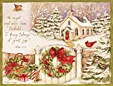 LANG 1004676 - ''Gifts of Christmas'', Boxed Christmas Cards, Artwork by Susan Winget'' - 18 Cards, 19 envelopes - 5.375'' x 6.875''