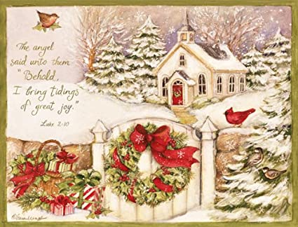 lang 1004676 gifts of christmas boxed christmas cards artwork by