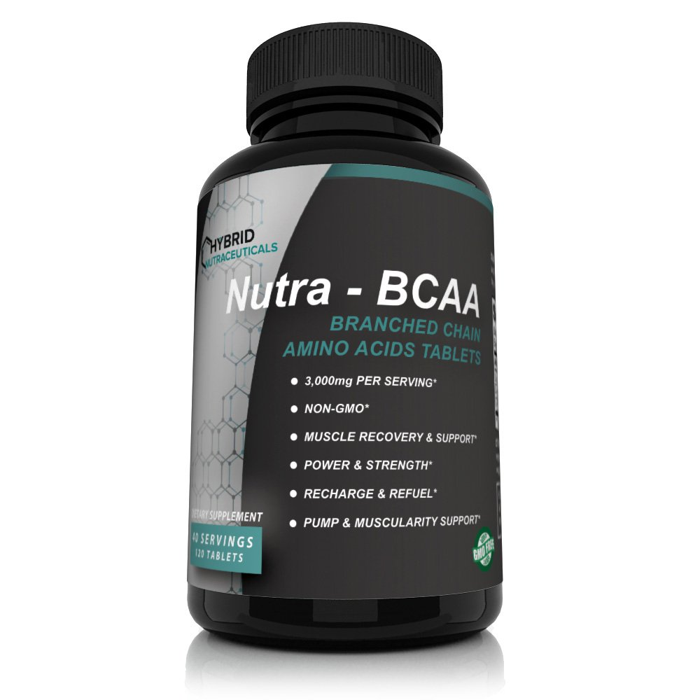 Nutra-BCAA™ Tablets 3000 mg INTRODUCTORY PRICE LIMITED TIME Best Intra Workout - Post Workout Supplements, Amino Acids Supplements for Endurance, Recovery, Performance, Post Workout Recovery Drink
