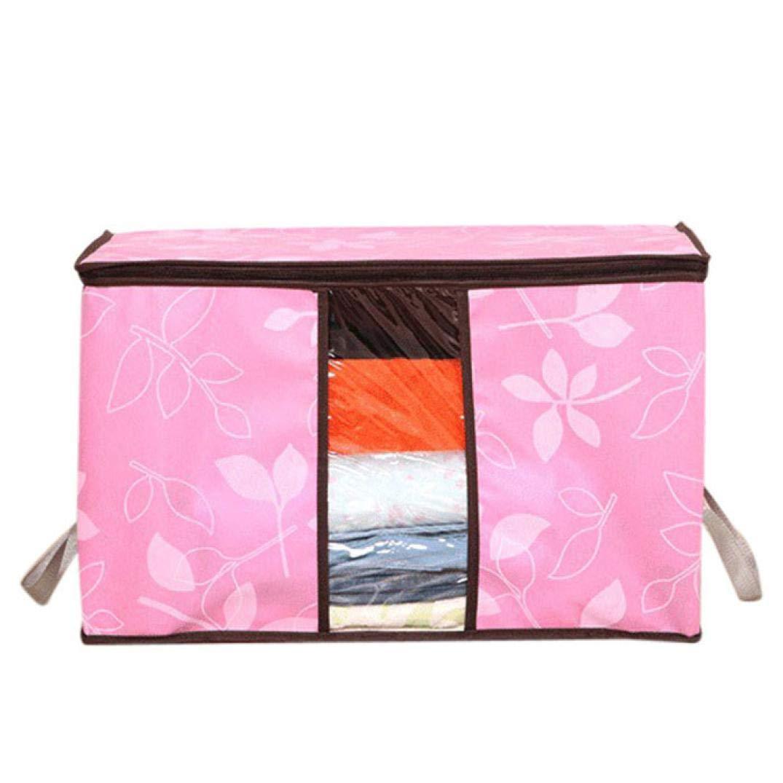 Quaanti 2018 Storage Organization/Designer Flower Printed Quilt Storage Bags Dust Cover Organization Storage Bags 4 Colors (PK)