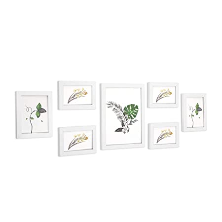 Songmics Picture Frame Set Of 7 Pieces In 3 Different Sizes One A4