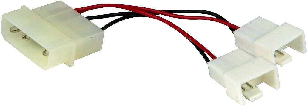 Arctic Molex Lüfter Adapter Netzteil Molex Auf 1 X 7v Computer Zubehör
