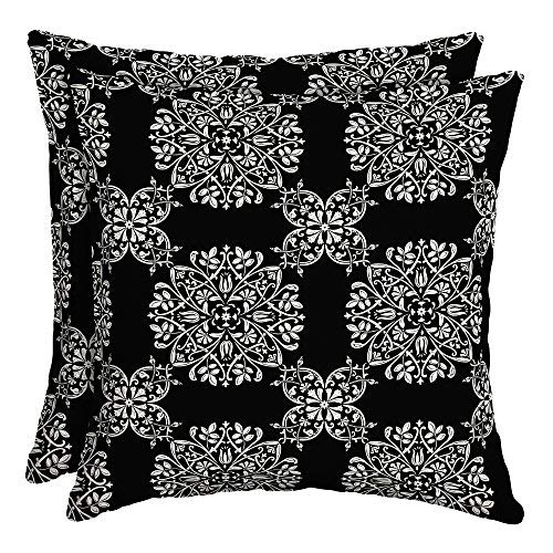 Better Homes and Gardens Bailey Medallion Outdoor Soft Pillow - Set of 2