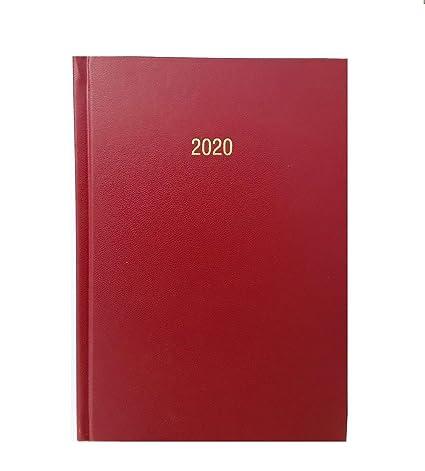 Agenda de 2020, tamaño A4, con tapa dura, para día a día ...