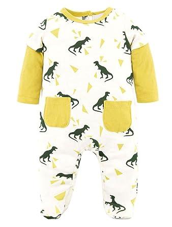 9f20cf4ed8eee Happy Cherry Grenouillère en Coton Bébé Mixte Manches Longue Pyjama Bébé  Garçon Fille Printemps Automne Hiver