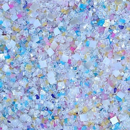 Unicorn Confetti Blinged-Out Bakery Bling Glittery Sugar