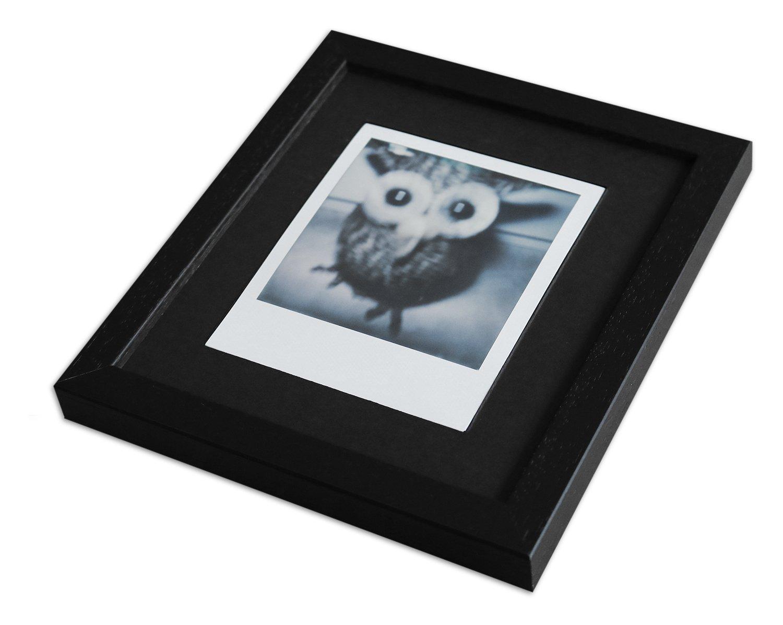 WandStyle Style de Photos Cadre pour Polaroid Serie A850 Noir cérusé Normal  Mural en Verre avec Passe-Partout Noir pour 1 Polaroid  Amazon.fr  Cuisine    ... f90d95a17e72