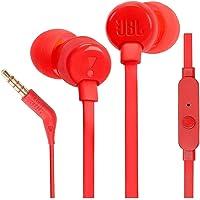 JBL In-Ear Headphones, RED - T110