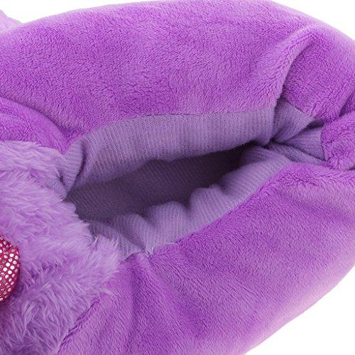 pour Peluche Mignon en Chaud Fille Licorne Chausson Hiver Coton Femme MagiDeal Doux Pantoufle qZSInvxv