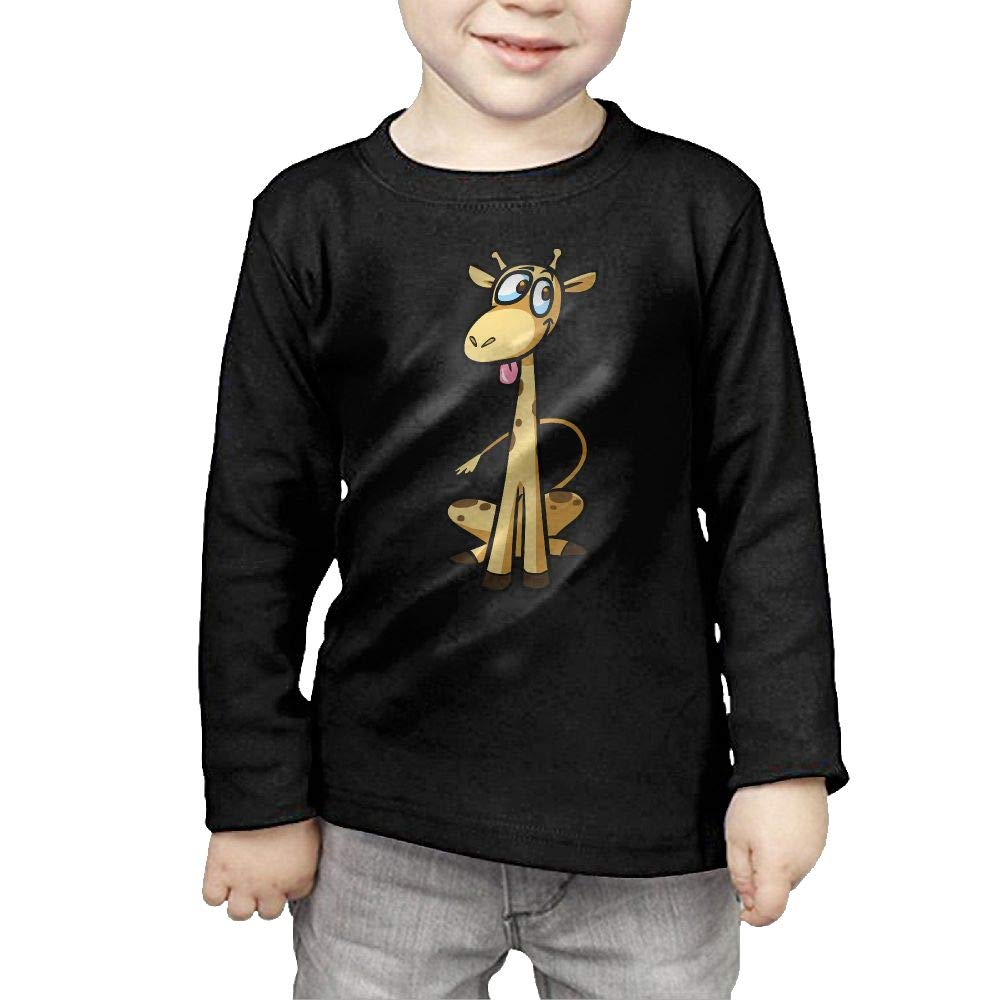 Fryhyu8 Newborn Kids Happy Giraffe Printed Long Sleeve 100/% Cotton Infants Clothes