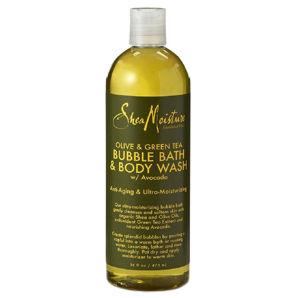Karité Moisture Raw Olive Green Tea Bubble Bath 473ml GT WORLD OF BEAUTY GmbH U-BB-2736