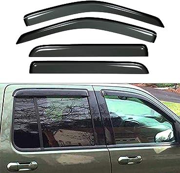 FOR 02-10 EXPLORER//MOUNTAINEER SMOKE WINDOW VISOR SHADE//VENT WIND//RAIN DEFLECTOR