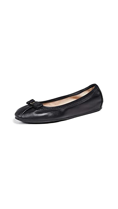 3811de249 Amazon.com: Salvatore Ferragamo Women's My Joy Flats, Nero, Black ...