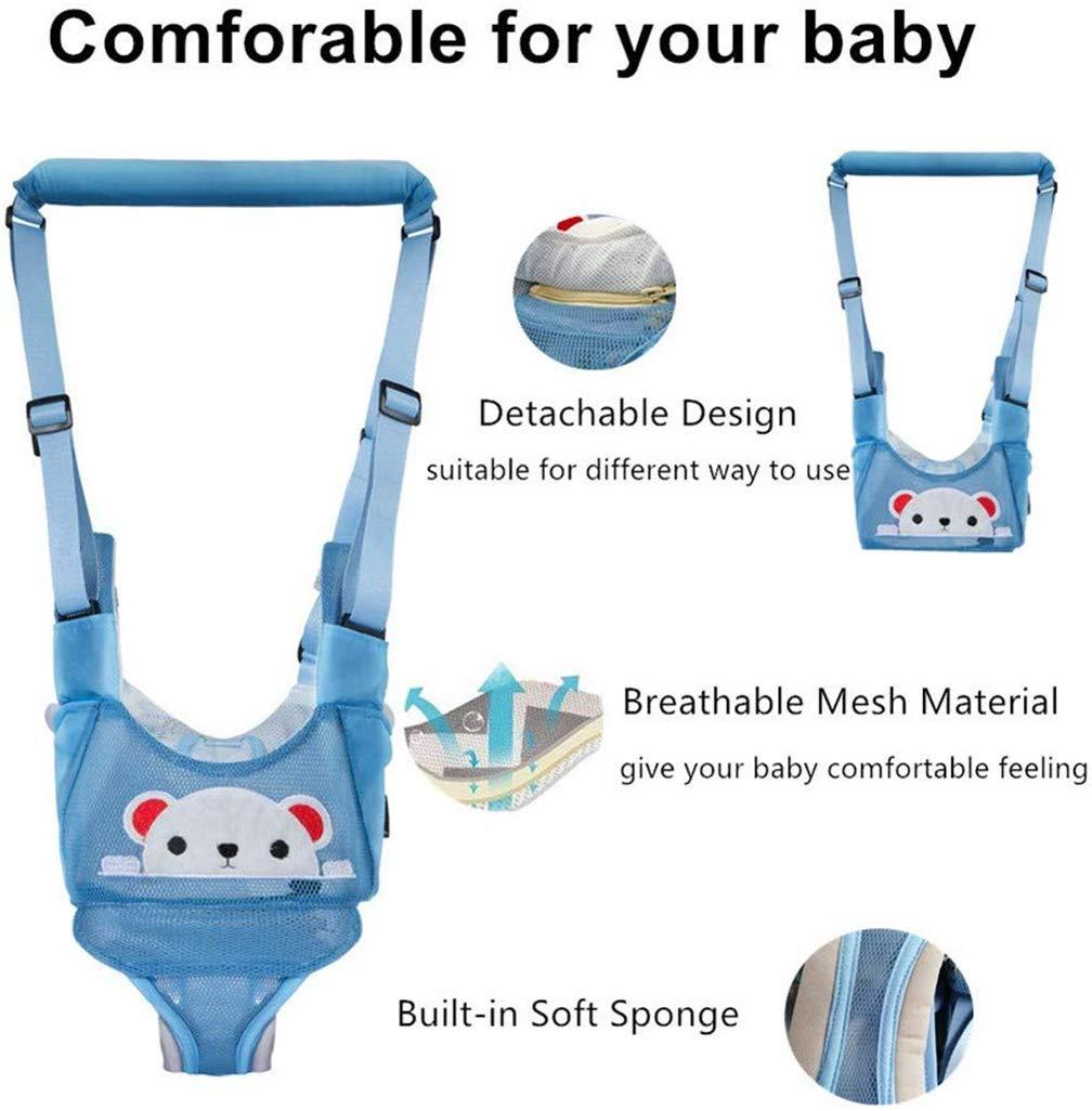 para actividades infantiles rosa Pink pig doble uso 6 Arn/és de seguridad ajustable y transpirable para caminar en el beb/é 14 meses para tirar y levantar
