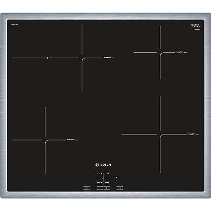 Bosch NIF645CB1E Integrado Con - Placa (Integrado, Con placa de inducción, Vidrio y
