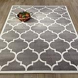 Best Area Rugs Ottomanson Paterson Collection Contemporary Moroccan Trellis Design Lattice Area Rug, 94