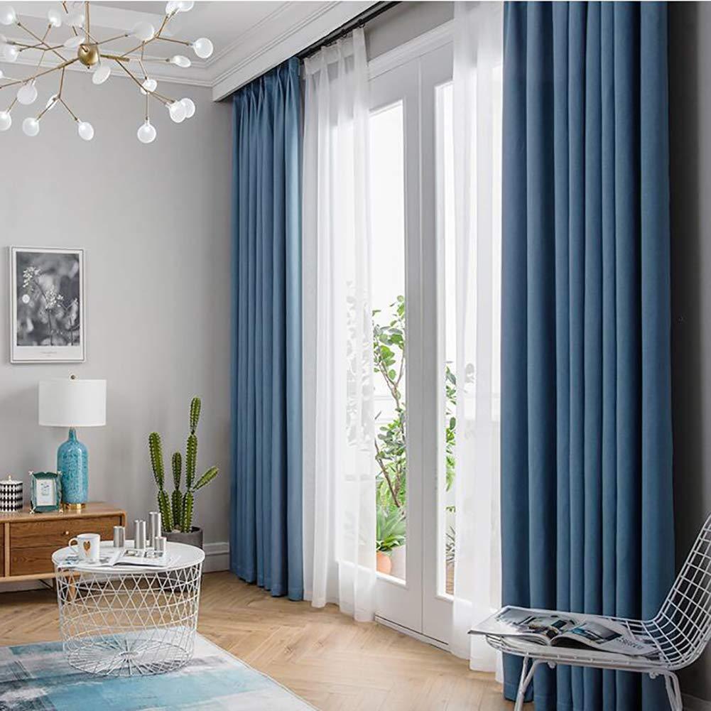 Be&xn Verdunkelungsgardinen mit Raffhalter, Gradient Streifen Lässige vorhänge mit Haken Für Wohnzimmer familienzimmer, Lange vorhänge Fenster, 1panel-Dunkelbraun 270x300cm(106x118inch) B07JKYPGBJ Vorhnge