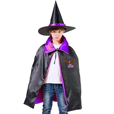Hgjfth Disfraz de águila para Halloween, Bruja, Mago, Capa con ...
