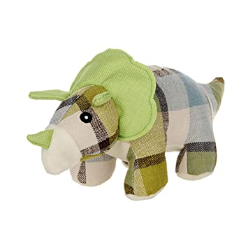 Juguetes Aolvo Squeek Toys, indestructible, de lino suave, juguete de masticar para perro