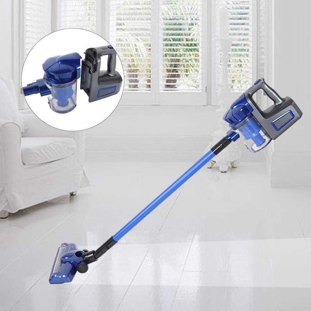 Neufday Aspiradora de Cama con Rodillo Cepillo con Cable Eliminador de Repelente de Polvo inalámbrico portátil para el hogar Aspirador de Mano(EU-Azul): Amazon.es: Hogar