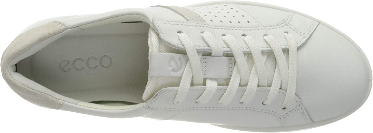 ECCO Leisure, Baskets Femme Blanc White Shadow White 52292