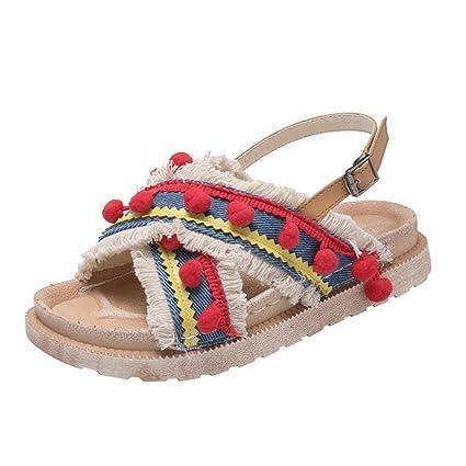 714fe3aaf2 Amazon.com  YJYDADA Flat Slippers